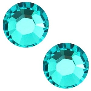 Swarovski steen 4.7mm blue zircon