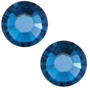 Swarovski steen 4.7mm crystal metallic blue