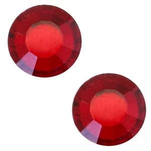Swarovski steen 4.7mm siam red