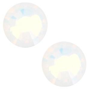 Swarovski steen 4.7mm white opal