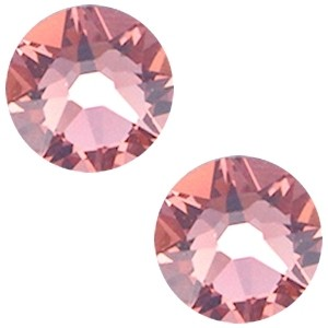 Swarovski steen 7mm blush rose