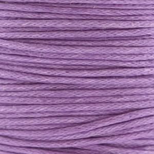 Waxkoord 1mm lila