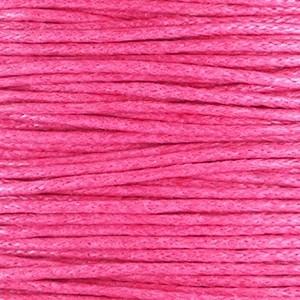 Waxkoord 1mm roze