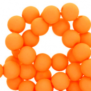 Acryl kralen 4mm orange peel