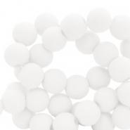 Acryl kralen 4mm white