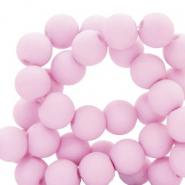Acryl kralen 6mm lavender pink