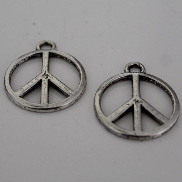Bedel peace zilver