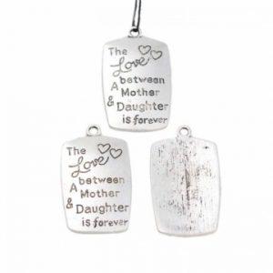 Bedel zilver mother and daughter