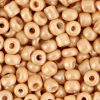 Rocailles 4mm cream light brown