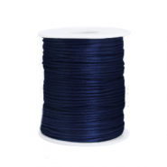 Satijn draad 1.5mm dark blue