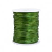 Satijn draad 1.5mm dark green