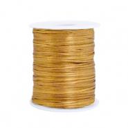 Satijn draad 1.5mm gold