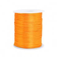 Satijn draad 1.5mm orange