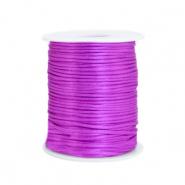 Satijn draad 1.5mm purple