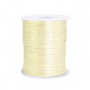 Satijn draad 1.5mm tender yellow