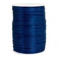 Satijn draad 2.5mm dark jeans blue