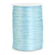 Satijn draad 2.5mm ice blue