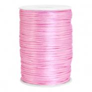 Satijn draad 2.5mm light pink