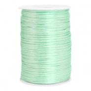 Satijn draad 2.5mm neo mint green