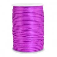 Satijn draad 2.5mm purple
