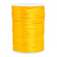 Satijn draad 2.5mm sunflower yellow