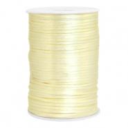 Satijn draad 2.5mm tender yellow