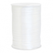 Satijn draad 2.5mm white