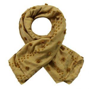 Sjaal mosterd geel