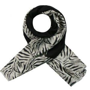 Sjaal tijger zwart