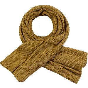 Sjaal winter oker