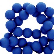 Acryl kralen 4mm royal blue
