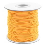 Elastiek 1mm sunflower orange