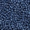 Rocailles 2mm navy peony blue