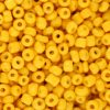 Rocailles 3mm warm yellow