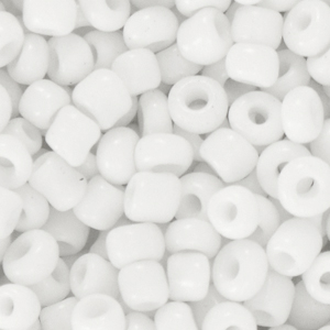 Rocailles 4mm sunshine white