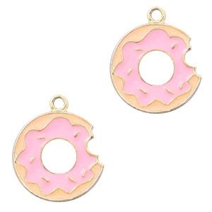 Bedel donut roze goud