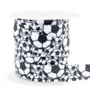 Elastisch Ibiza lint 15mm voetballen