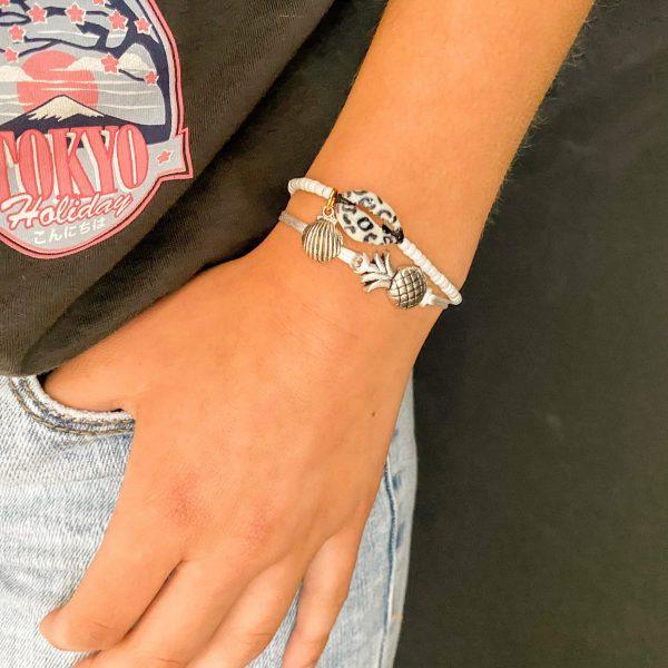Handgemaakt setje armbanden