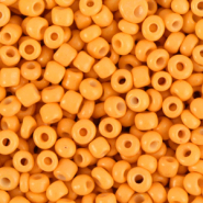 Rocailles 3mm amber orange