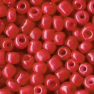 Rocailles 4mm crimson red