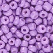 Rocailles 4mm lilac purple