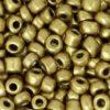 Rocailles 4mm metallic antique gold
