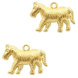 Bedel zebra goud
