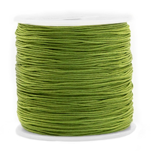 Macramé draad 0.8mm olive green