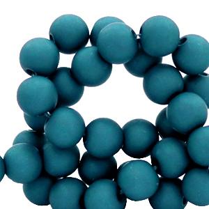 Acryl kralen 4mm snorkel blue