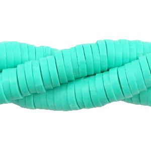 Streng katsuki kralen 6mm turquoise