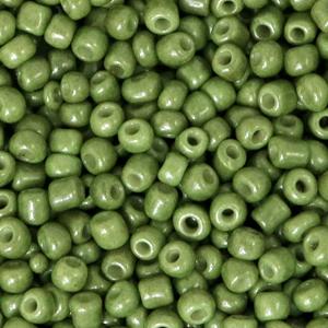 Rocailles 3mm calliste green
