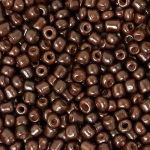 Rocailles 3mm chocolate brown