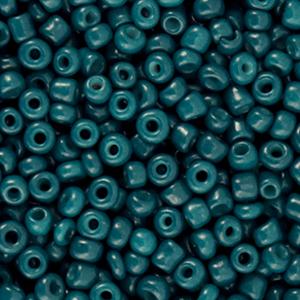 Rocailles 3mm dark teal blue