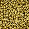 Rocailles 3mm metallic antique gold
